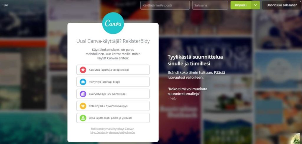 somehaltuun.fi - blogi - canva